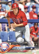 2018 Topps #409 Scott Kingery NM-MT RC Rookie