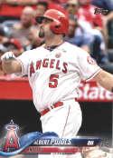 2018 Topps #582 Albert Pujols NM-MT Angels