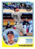 2018 Topps 35th Anniversary 1983 #83-24 Aaron Judge New York Yankees