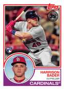 2018 Topps 35th Anniversary 1983 #83-29 Harrison Bader St. Louis Cardinals