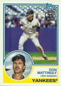 2018 Topps 35th Anniversary 1983 #83-56 Don Mattingly New York Yankees