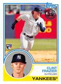 2018 Topps 35th Anniversary 1983 #83-70 Clint Frazier New York Yankees