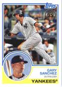 2018 Topps 35th Anniversary 1983 #83-74 Gary Sanchez New York Yankees