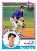 2018 Topps 35th Anniversary 1983 #83-76 Ryan McMahon Colorado Rockies