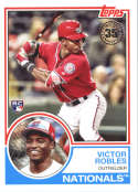 2018 Topps 35th Anniversary 1983 #83-85 Victor Robles Washington Nationals
