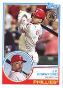 2018 Topps 35th Anniversary 1983 #83-90 J.P. Crawford Philadelphia Phillies