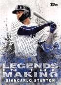 2018 Topps Series Two Legends in the Making #LITM-19 Giancarlo Stanton New York Yankees