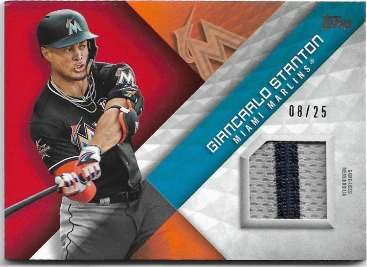 2018 Topps  Major League Material Relics Red