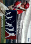 2018 Topps MLB Players Weekend Commemorative Patches #PWP-RH Rhys Hoskins NM-MT
