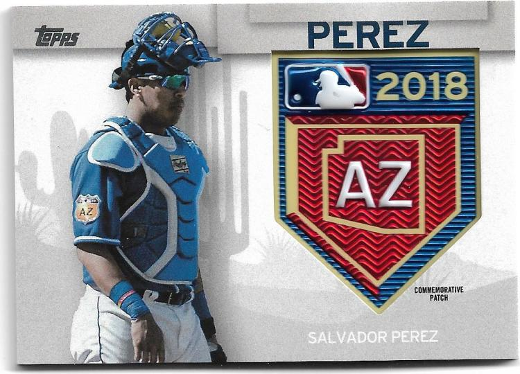 2018 Topps  MLB Spring Training Commemorative Patches