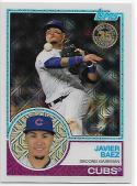 2018 Topps '83 1983 35th Anniversary Silver Pack Chrome #22 Javier Baez Chicago Cubs