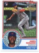 2018 Topps '83 1983 35th Anniversary Silver Pack Chrome #24 Amed Rosario RC Rookie New York Mets