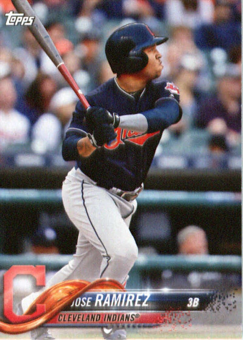 2018 Topps Team Sets Cleveland Indians
