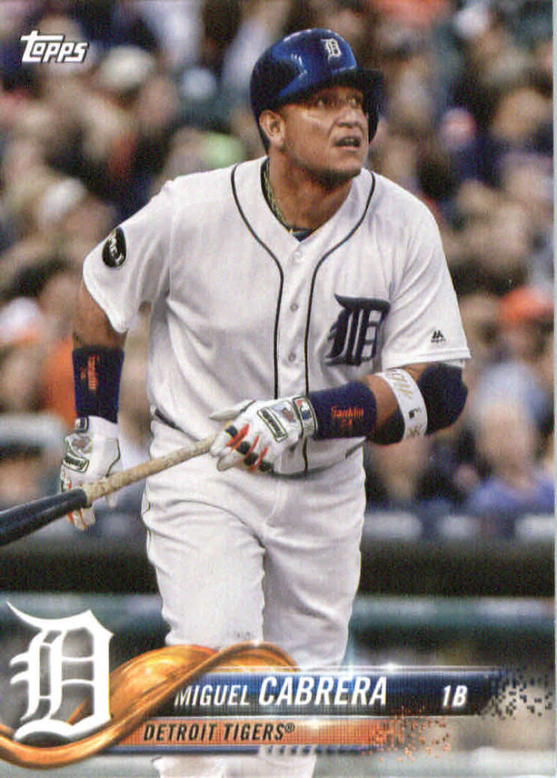 2018 Topps Team Sets Detroit Tigers