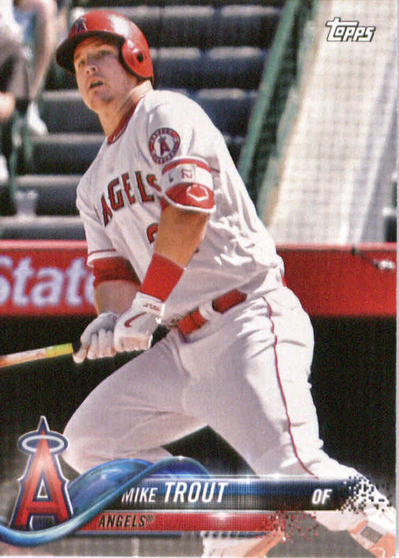 2018 Topps Team Sets Los Angeles Angels