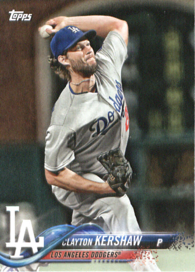 2018 Topps Team Sets Los Angeles Dodgers