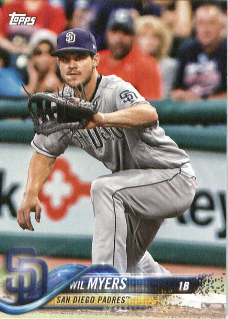 2018 Topps Team Sets San Diego Padres