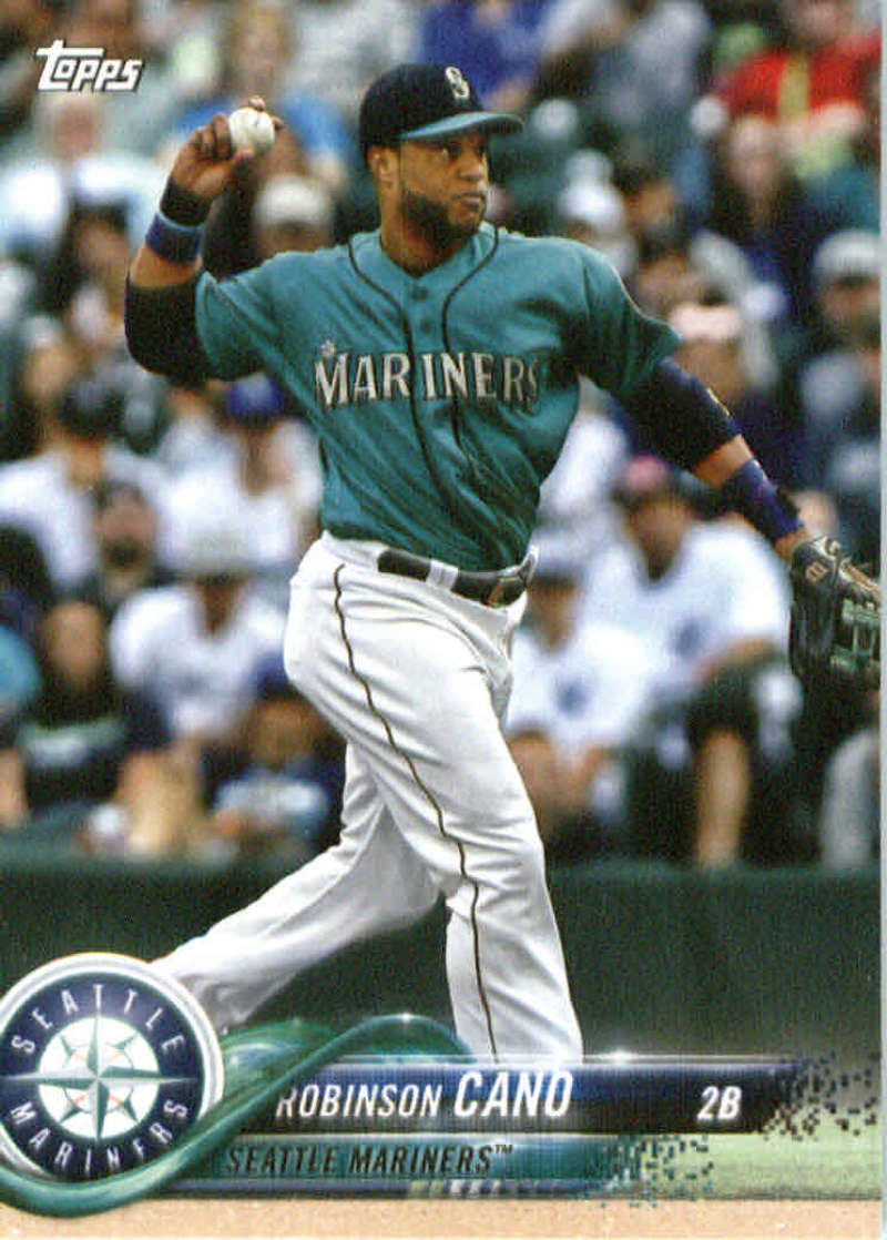 2018 Topps Team Sets Seattle Mariners