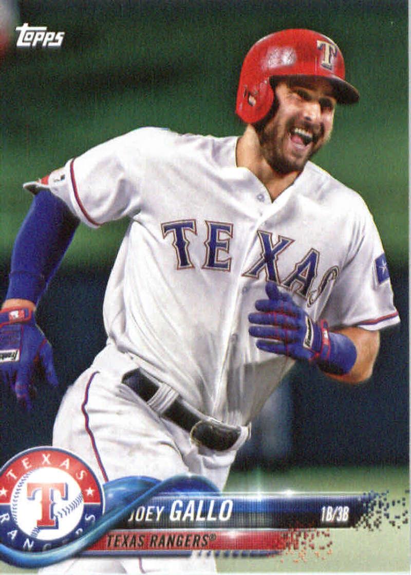 2018 Topps Team Sets Texas Rangers