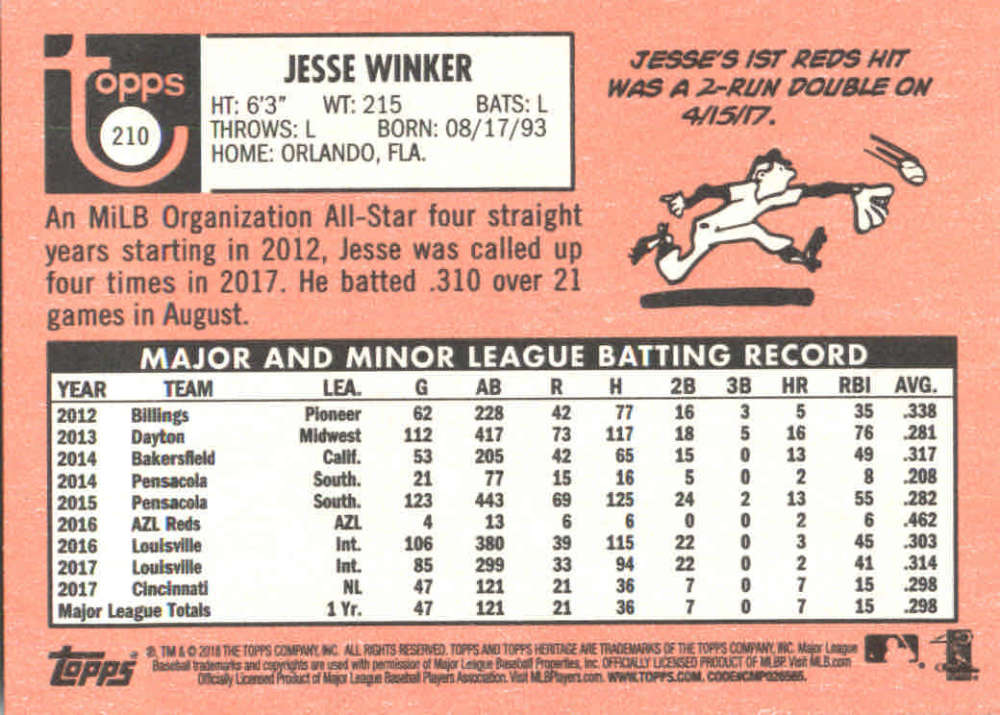 2018-Heritage-Baseball-Card-Singles-201-400-You-Pick-Complete-Your-Set thumbnail 17