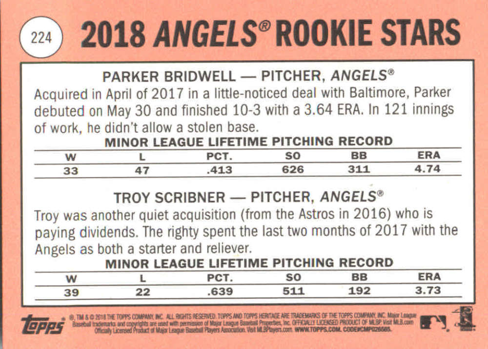 2018-Heritage-Baseball-Card-Singles-201-400-You-Pick-Complete-Your-Set thumbnail 41