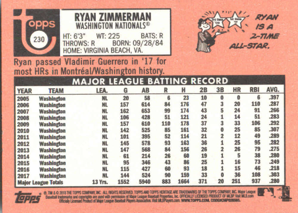 2018-Heritage-Baseball-Card-Singles-201-400-You-Pick-Complete-Your-Set thumbnail 51