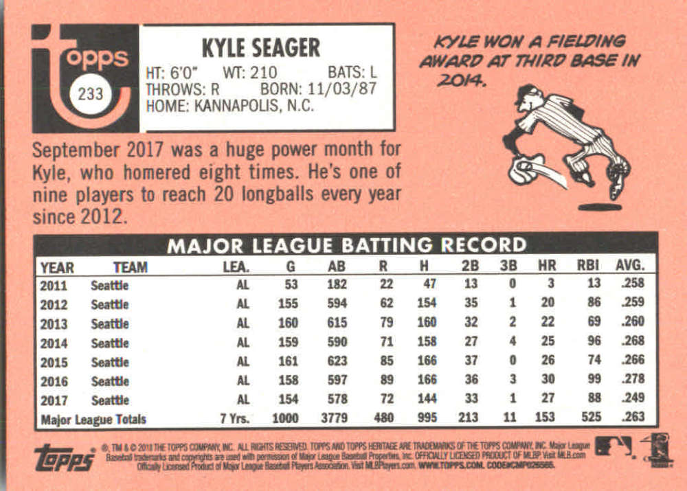 2018-Heritage-Baseball-Card-Singles-201-400-You-Pick-Complete-Your-Set thumbnail 55
