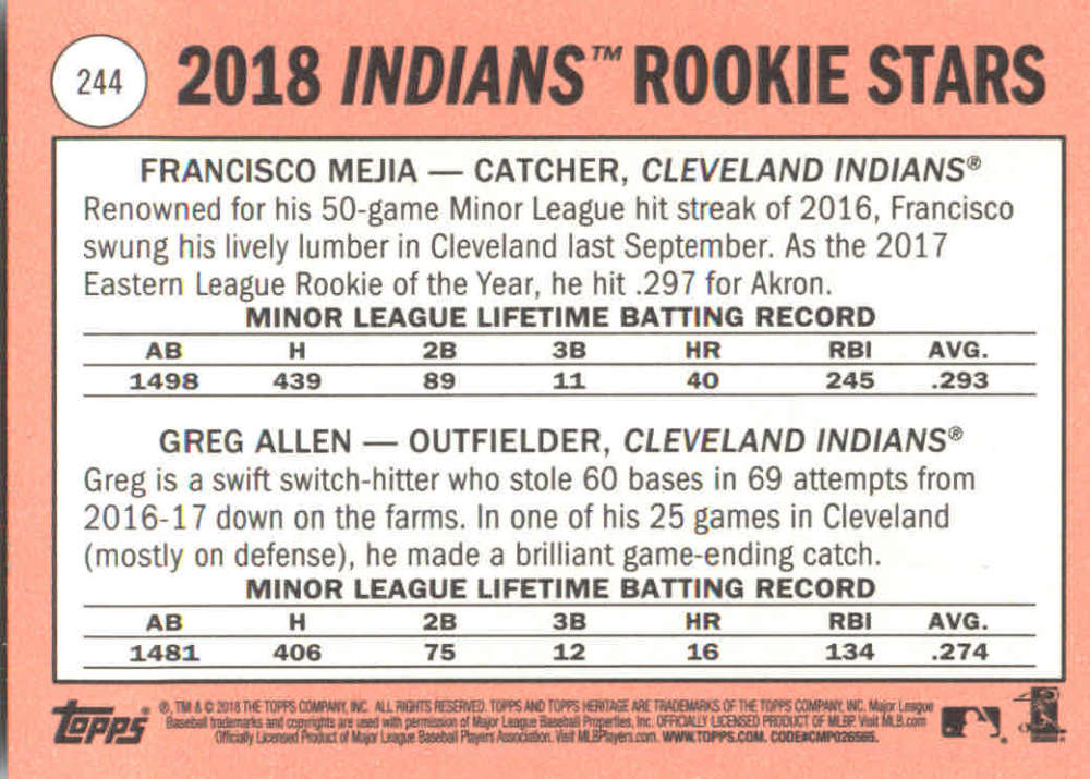 2018-Heritage-Baseball-Card-Singles-201-400-You-Pick-Complete-Your-Set thumbnail 77