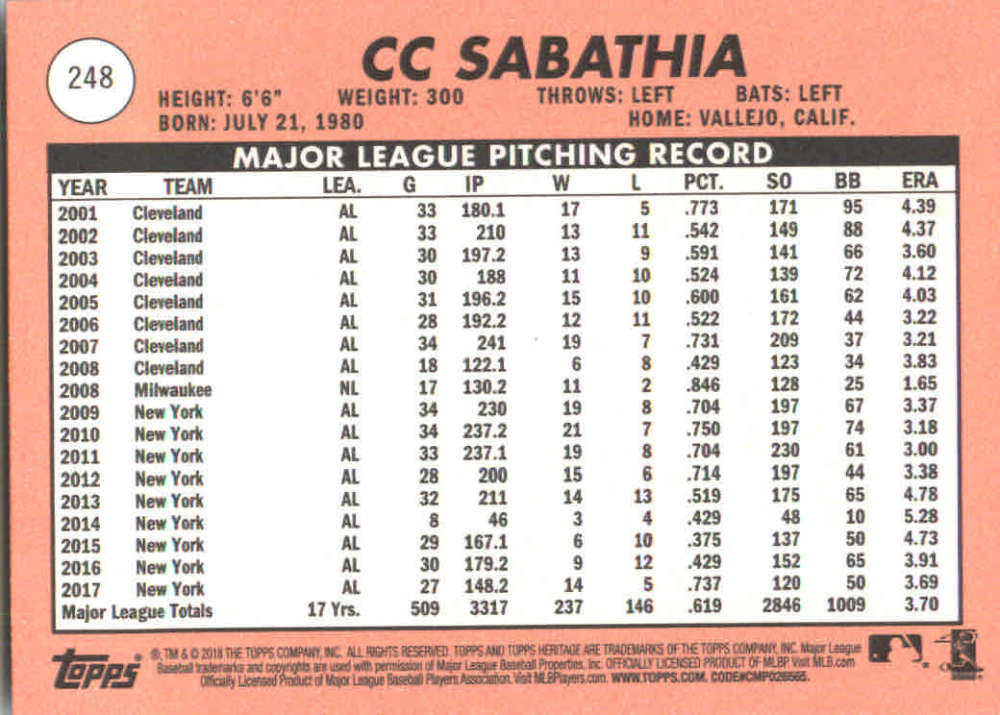 2018-Heritage-Baseball-Card-Singles-201-400-You-Pick-Complete-Your-Set thumbnail 85