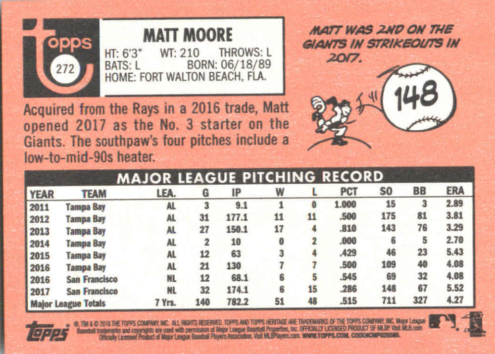 2018-Heritage-Baseball-Card-Singles-201-400-You-Pick-Complete-Your-Set thumbnail 127