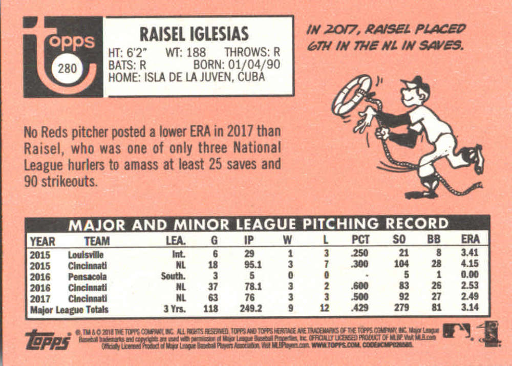 2018-Heritage-Baseball-Card-Singles-201-400-You-Pick-Complete-Your-Set thumbnail 137