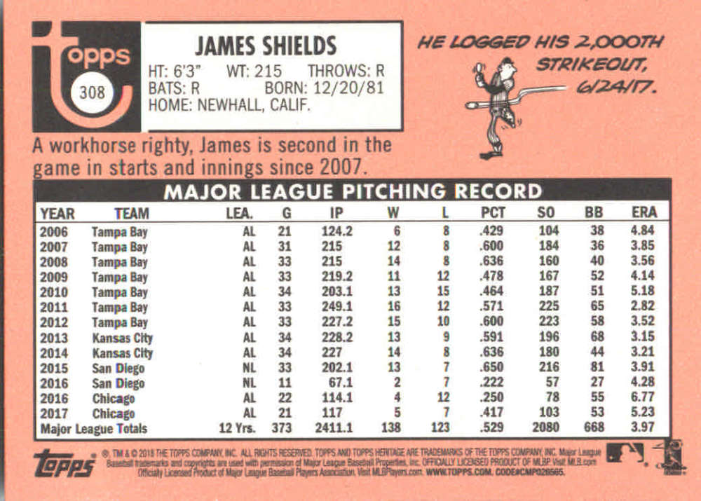 2018-Heritage-Baseball-Card-Singles-201-400-You-Pick-Complete-Your-Set thumbnail 191
