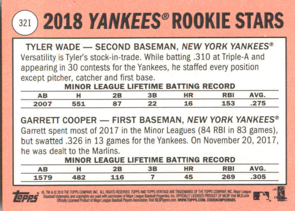 2018-Heritage-Baseball-Card-Singles-201-400-You-Pick-Complete-Your-Set thumbnail 213