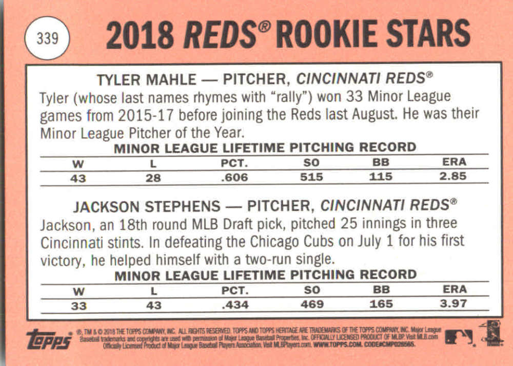 2018-Heritage-Baseball-Card-Singles-201-400-You-Pick-Complete-Your-Set thumbnail 241