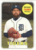 2018 Topps Heritage #382 Michael Fulmer Detroit Tigers