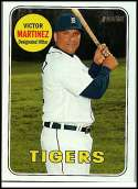 2018 Topps Heritage #427 Victor Martinez SP Detroit Tigers