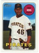 2018 Topps Heritage #457 Ivan Nova SP Pittsburgh Pirates
