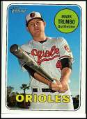 2018 Topps Heritage #466 Mark Trumbo SP Baltimore Orioles