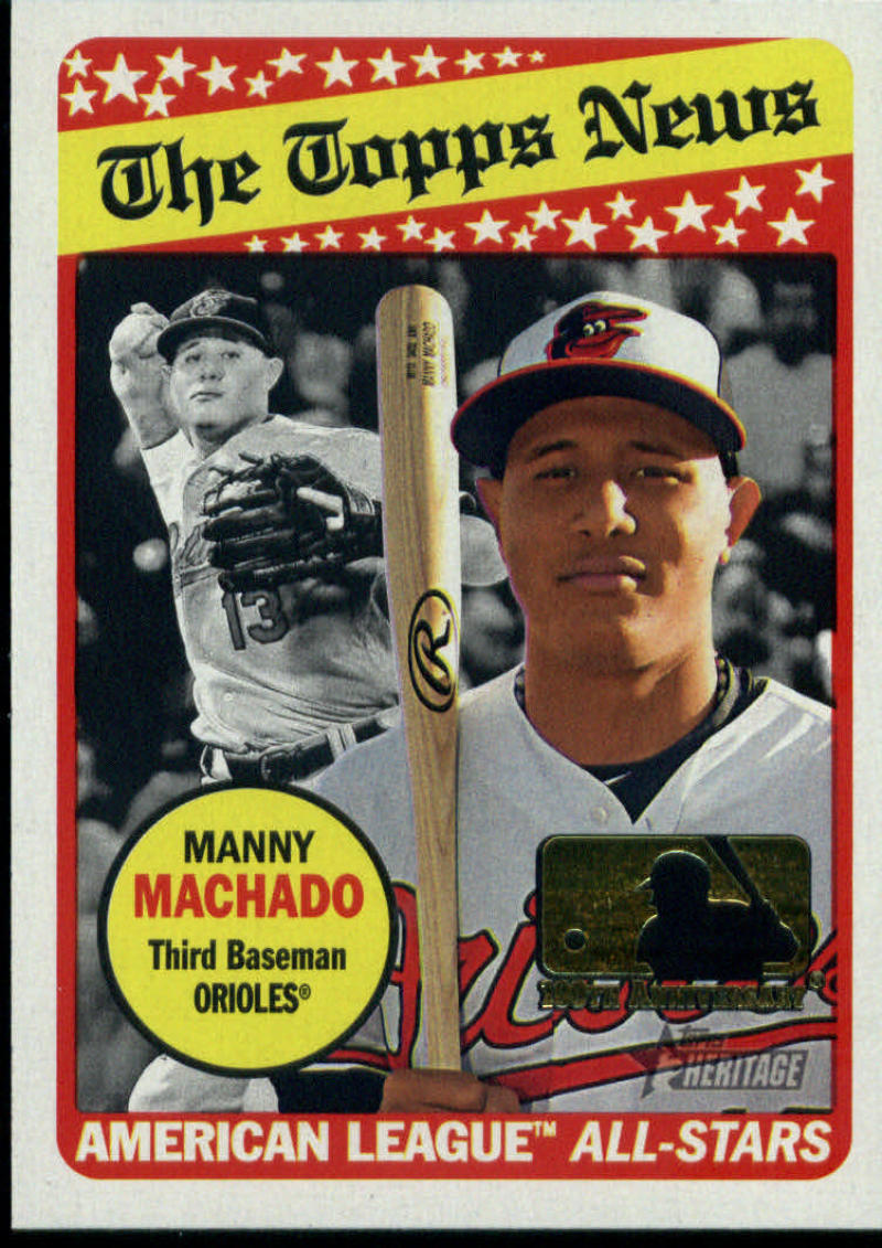 2018 Topps Heritage 100th Anniversary