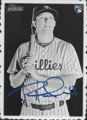 2018 Topps Heritage 1969 Topps Deckle Edge #23 Rhys Hoskins Phillies