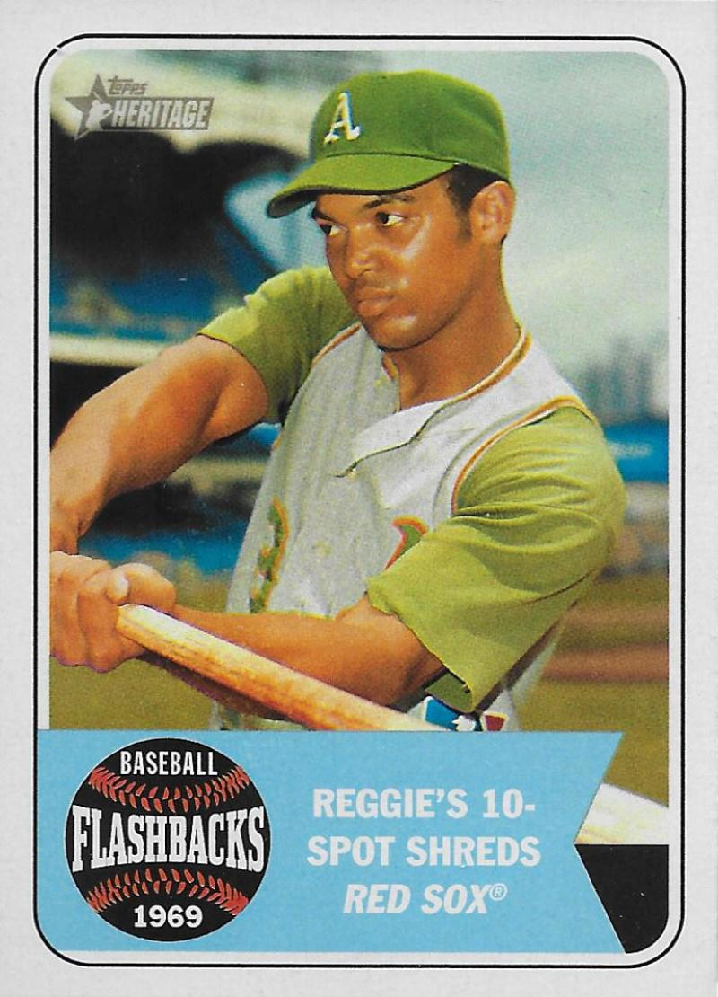 2018 Topps Heritage Baseball Flashbacks
