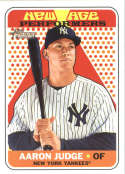 2018 Topps Heritage New Age Performers #NAP-5 Aaron Judge Yankees