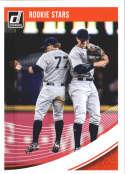2018 Donruss #201 Aaron Judge/Clint Frazier New York Yankees