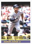 2018 Donruss #253 Aaron Judge New York Yankees Retro 1984