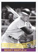 2018 Donruss #254 Mickey Mantle New York Yankees Retro 1984