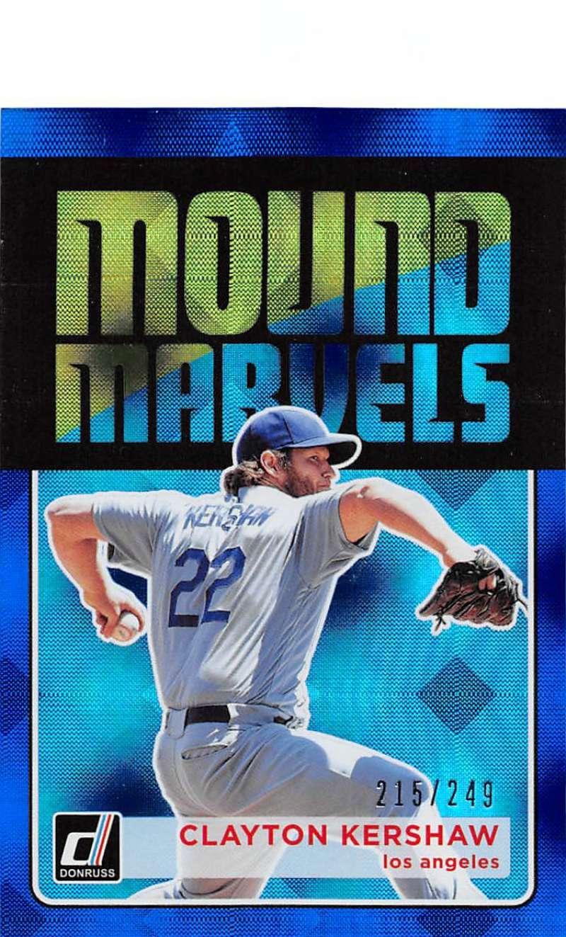 2018 Donruss  Mound Marvels Blue