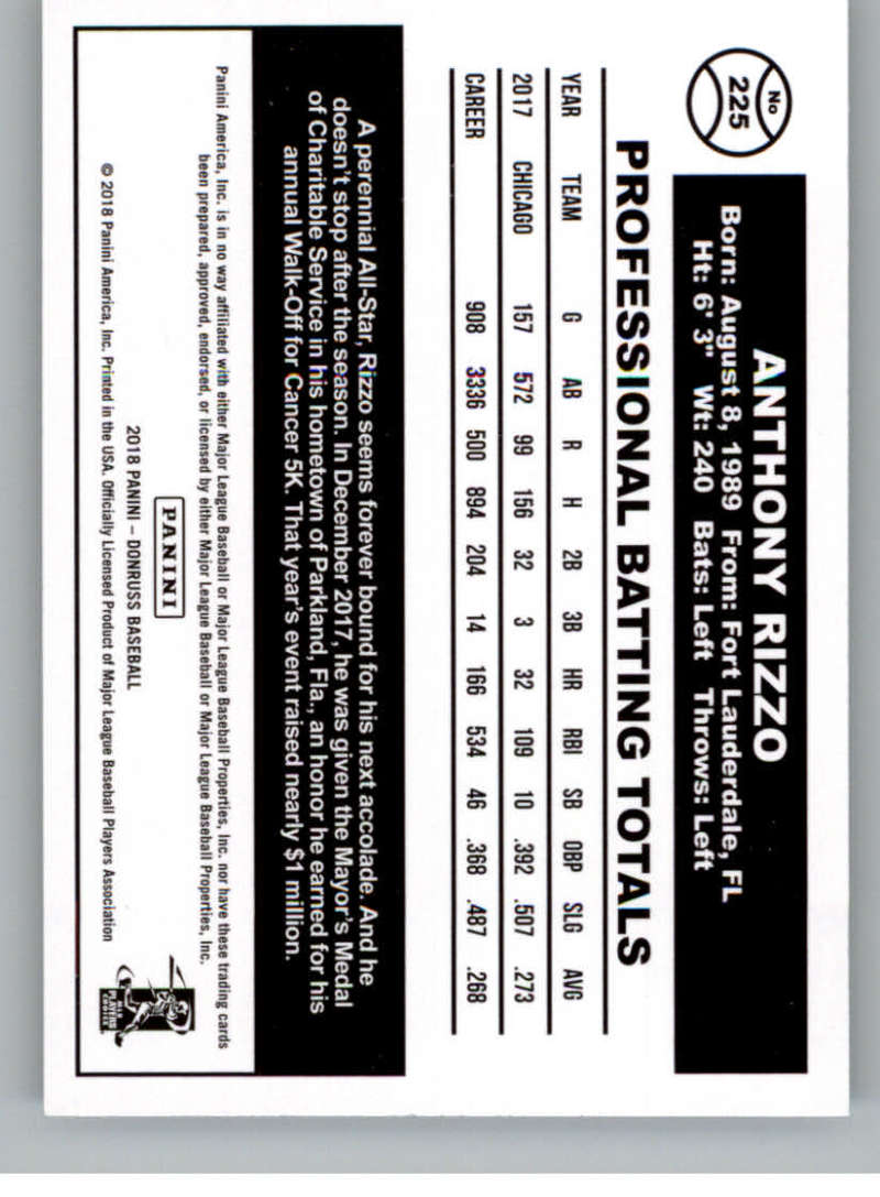 2018-DONRUSS-VARIATION-SINGLES-YOU-PICK-99-2-49-OVER-400-IN-STOCK