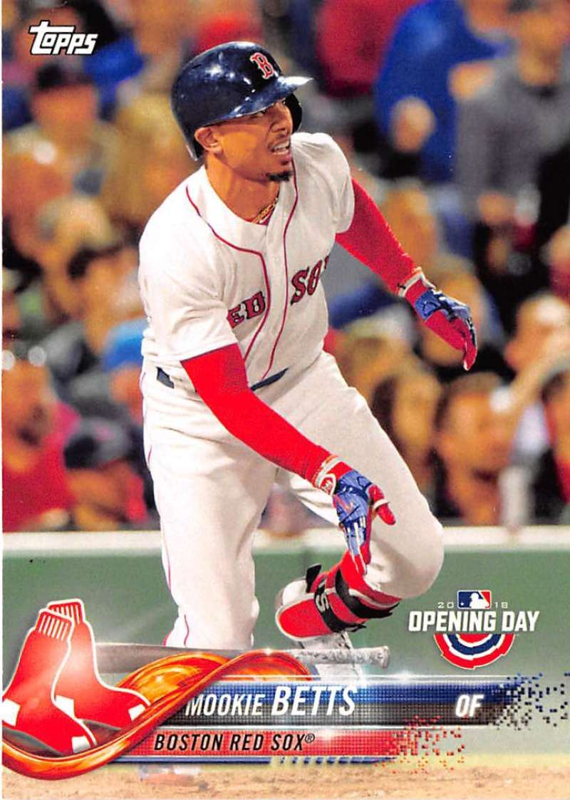 2018 Topps Opening Day #22 Mookie Betts NM-MT Boston Red Sox