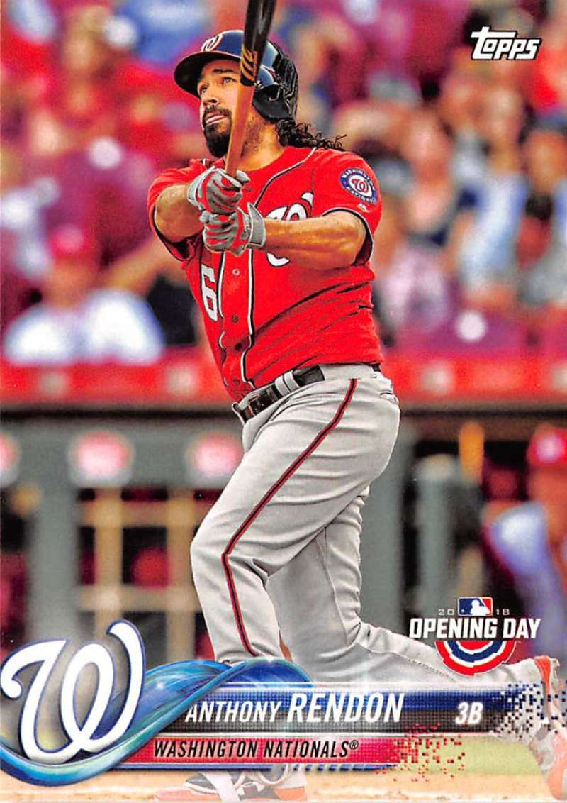 2018 Topps Opening Day #109 Anthony Rendon NM+