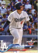 2018 Topps Opening Day #128 Alex Verdugo RC Rookie Card Dodgers
